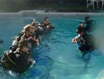 Open water students at African Waters Scuba
